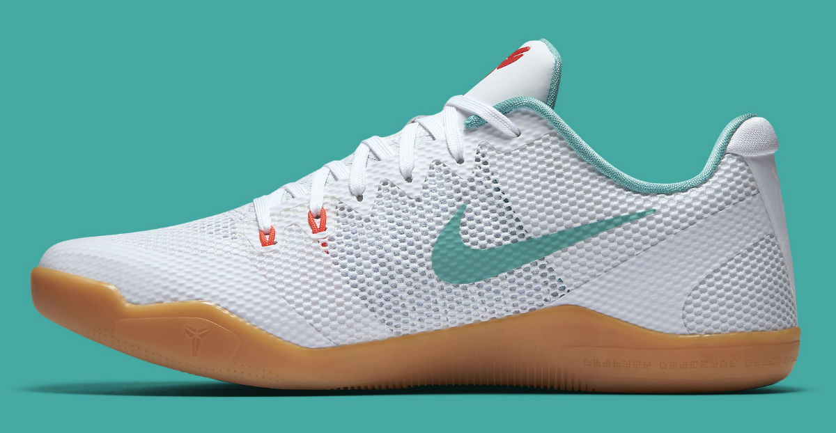cheap for discount 97375 b4e05 Nike Kobe 11 Summer Pack Release Date Medial 836183-103