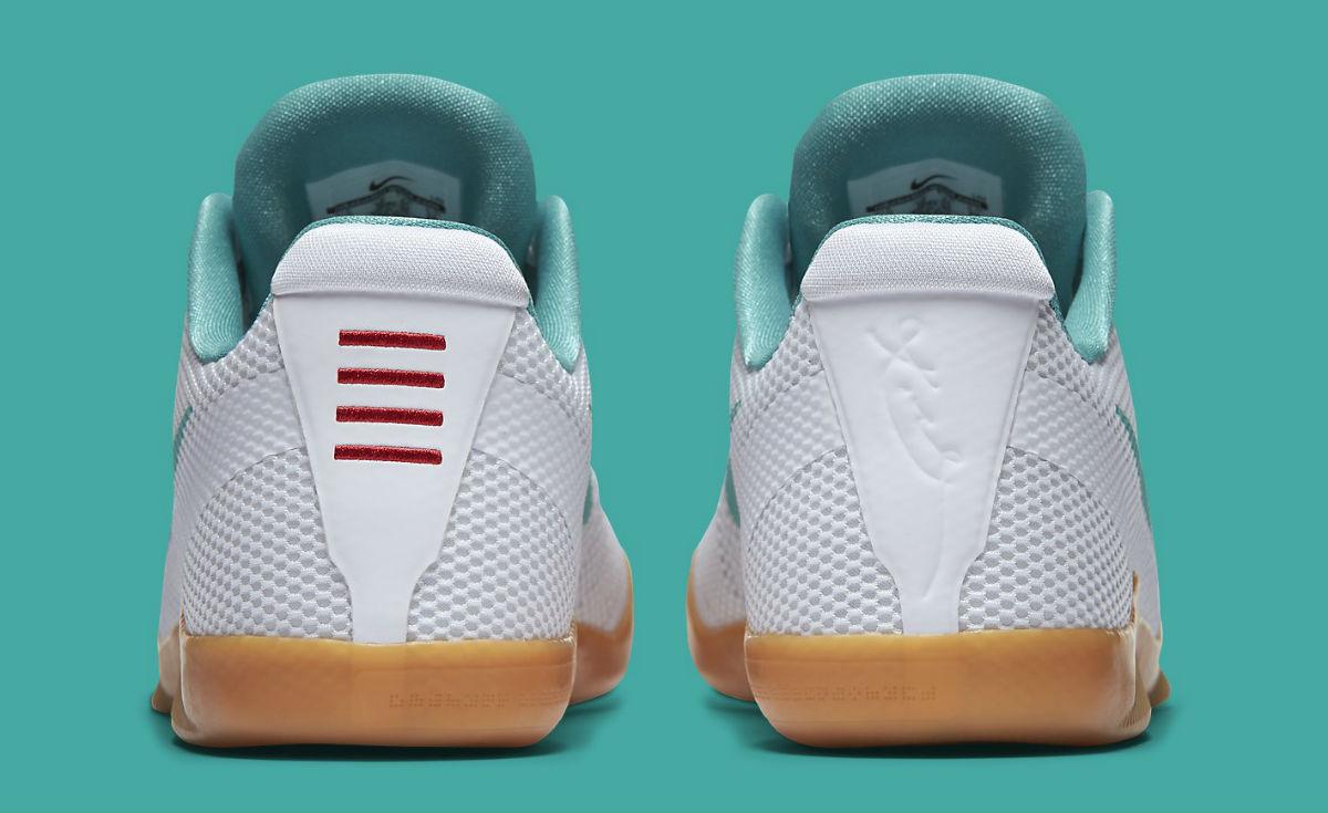 425865f4b8c0 Nike Kobe 11 Summer Pack Release Date Heel 836183-103