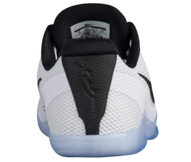 Nike Kobe 11 White Black Ice Heel