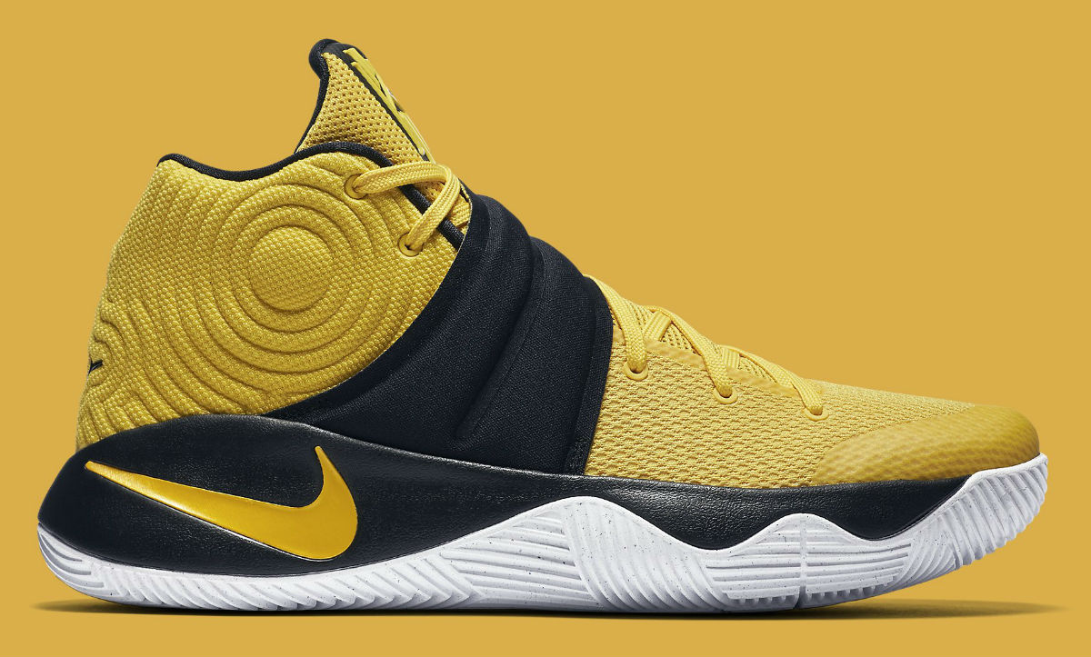 558c3a461404 Nike Kyrie 2 Australia Yellow Side 819583 701