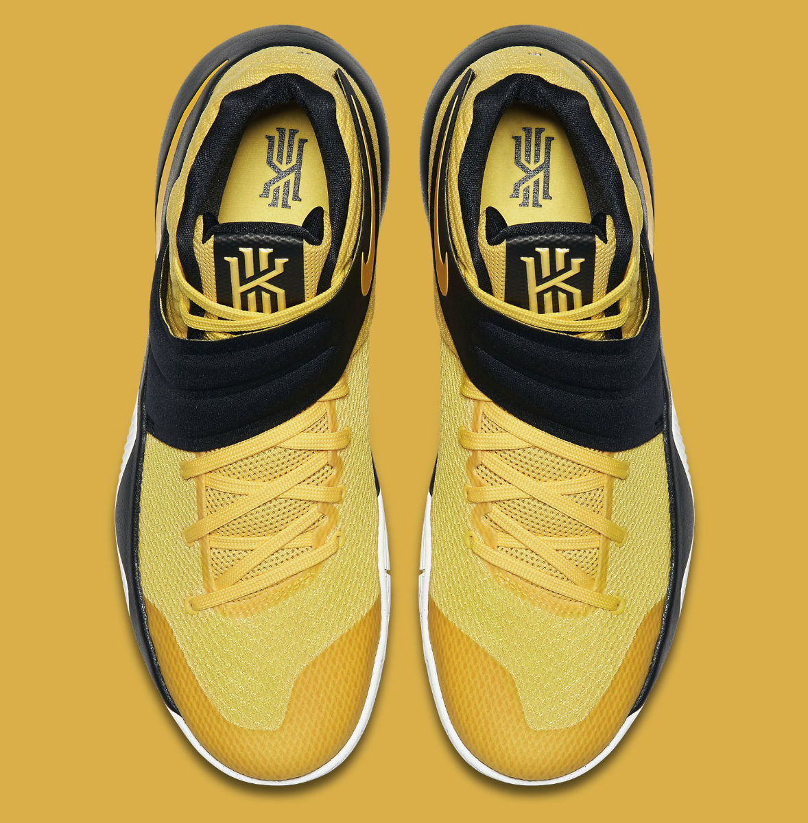 huge discount bb1e5 704ab Nike Kyrie 2 Australia Yellow Top 819583 701