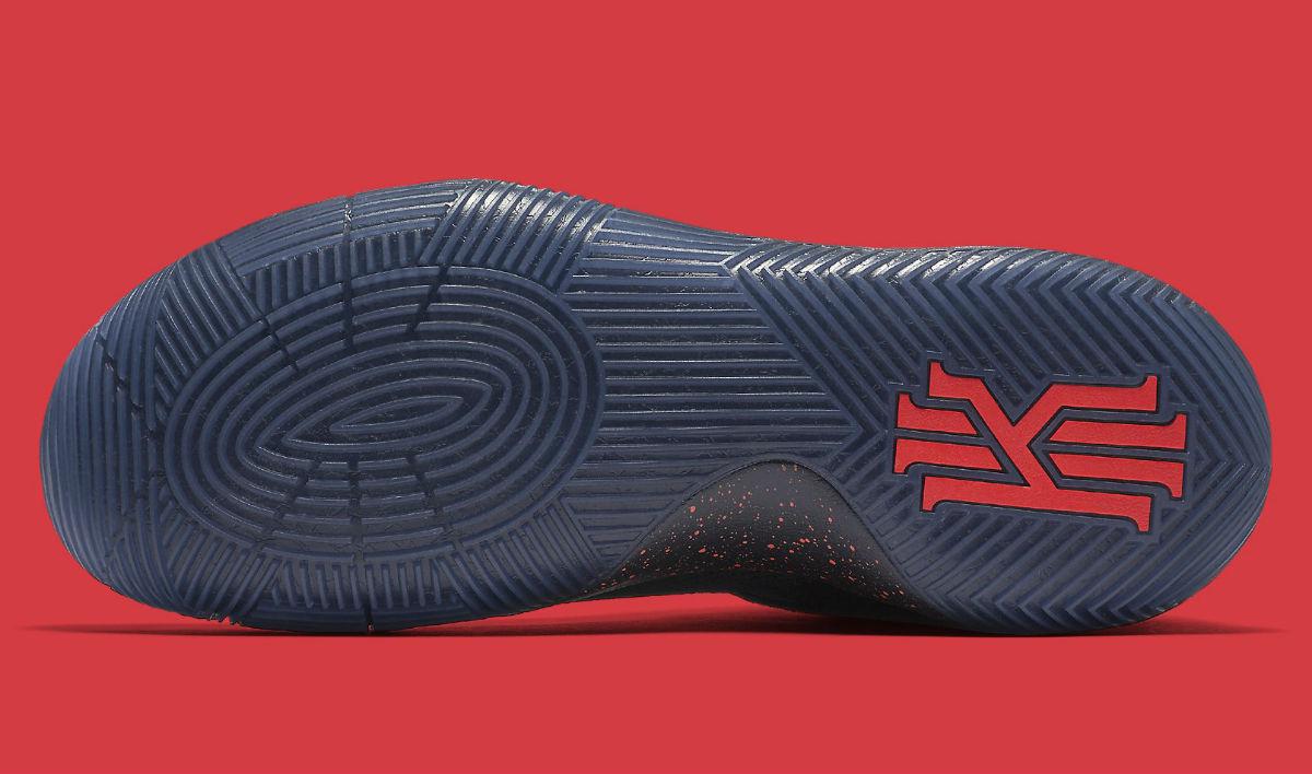 61fd15330062 Nike Kyrie 2 Bright Crimson Speckle Sole 819583-006