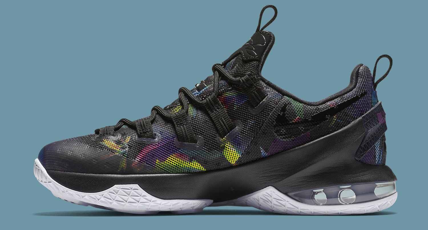 Nike LeBron 13 Low Birds of Paradise Medial