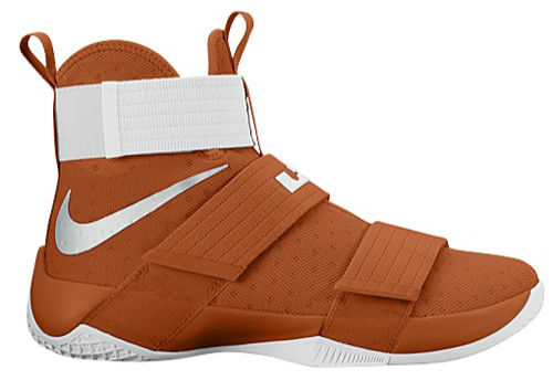 purchase cheap 03c70 310e2 Nike LeBron Soldier 10 TB Desert orange