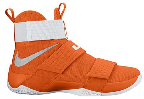 nike lebron soldier 10 orange purple