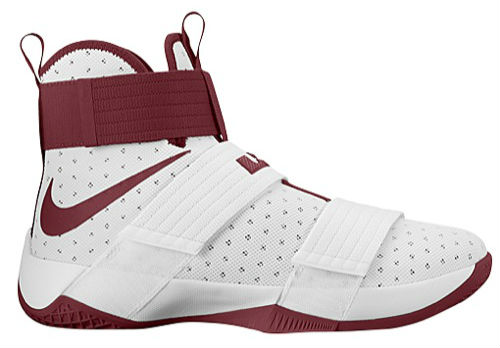 Nike LeBron Soldier 10 TB White Maroon