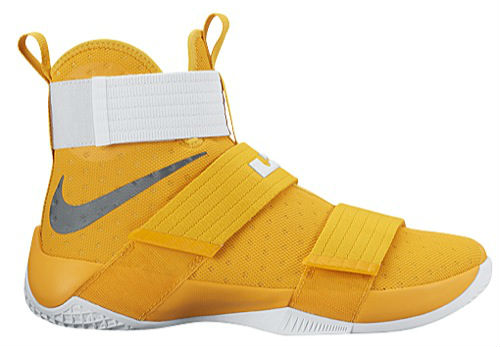 nike lebron soldier 10 yellow