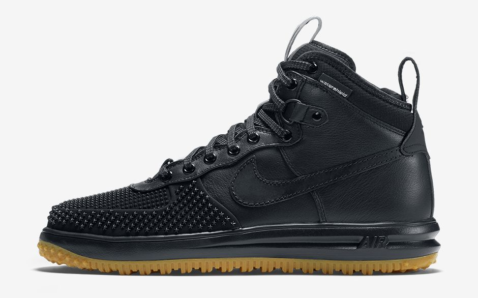 huge discount 4e784 fad7b Nike Lunar Force 1 Duckboot Black Gum Profile