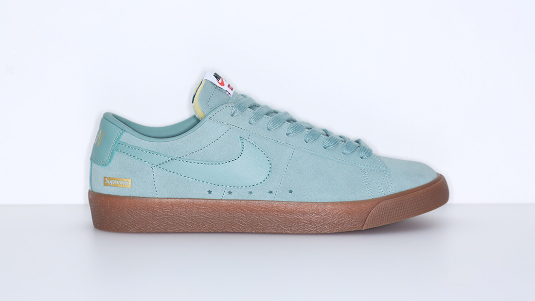 Nike SB Blazer Low GT x Supreme Cannon Sole Collector Release Date Roundup
