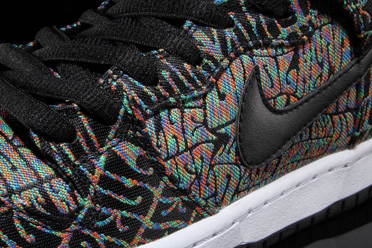 Nike SB Dunk High Psychedelic Concert Poster Detail