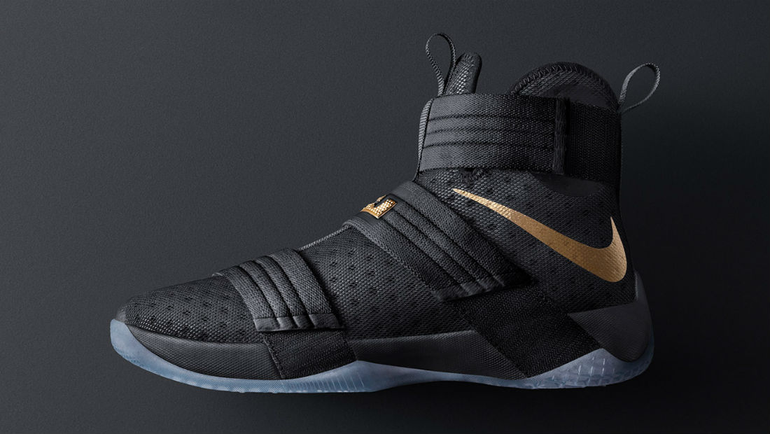 cheap for discount c3ab4 629d2 Nike LeBron Soldier 10 Championship iD   Sole Collector