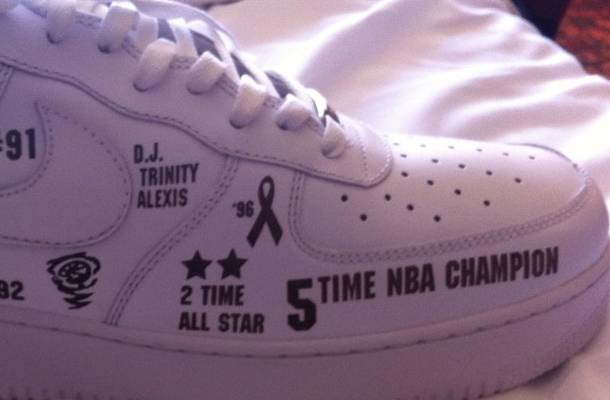 Nike Air Force 1 Customized for Dennis Rodman's Basketball