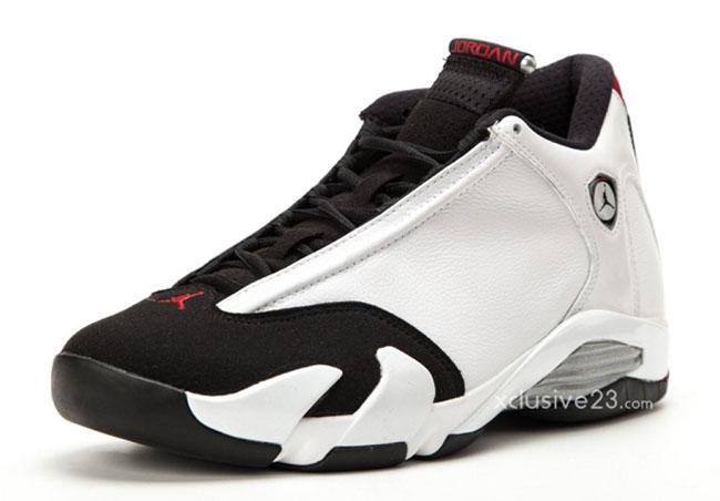 Air Jordan 14 Retro - Black Toe   Sole