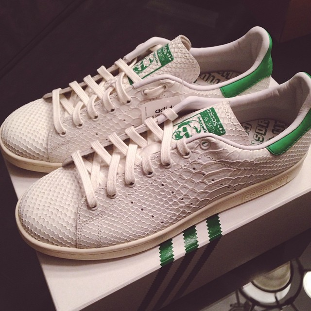 Pusha T Picks Up adidas Originals Stan Smith Python