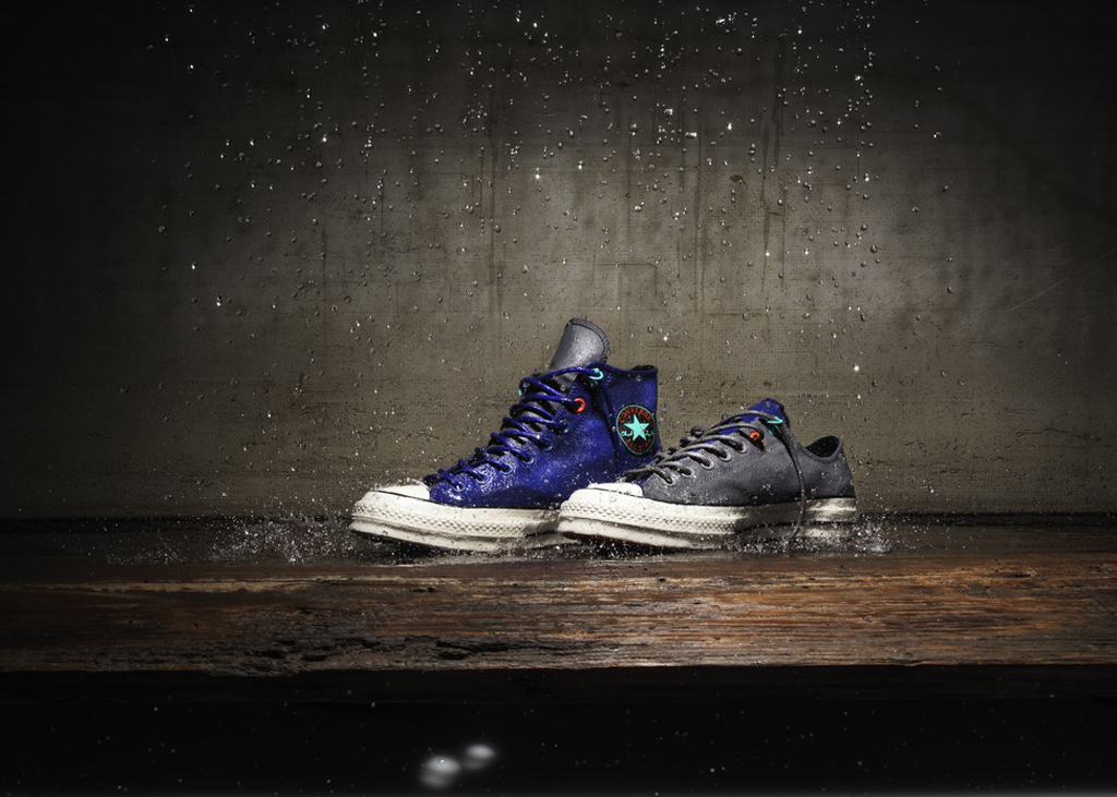 9dd2a0285175b6 The Converse Chuck Taylor All Star 1970s gets outfitted with a Polartec®  Power Shield® Pro membrane for all-season weather resistance.