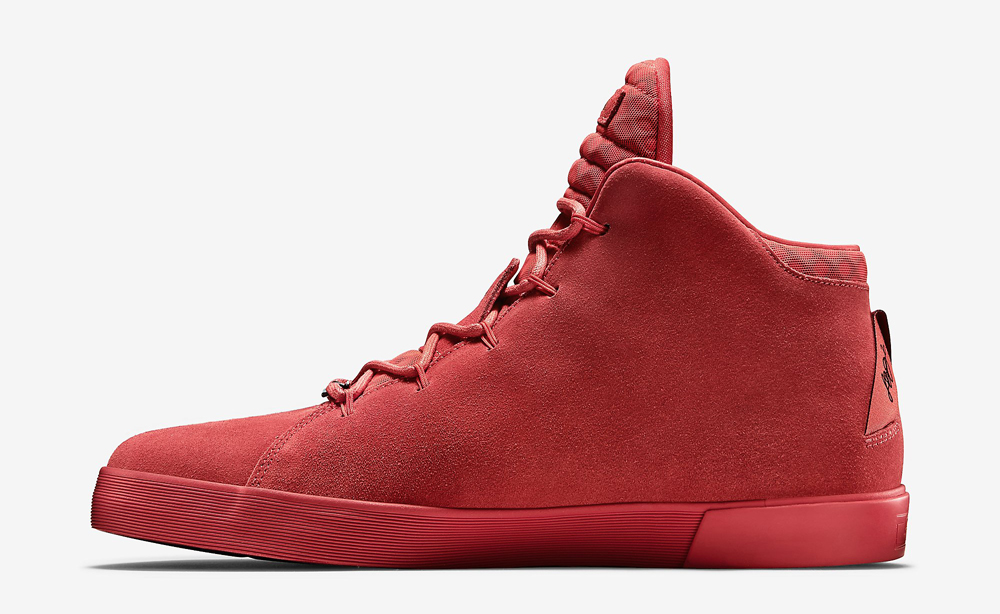 quality design ddee5 7e930 Nike LeBron 12 NSW Lifestyle Black Challenge Red