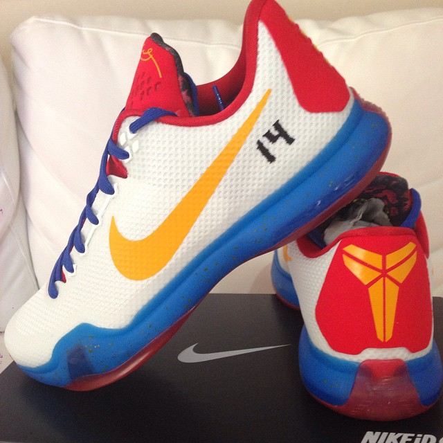 Nike iD Kobe 10 Philippines Home