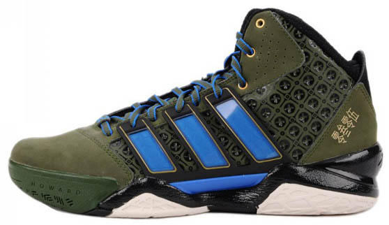 adidas adiPower Howard 2 Lei Feng Green Blue G49115 (1)