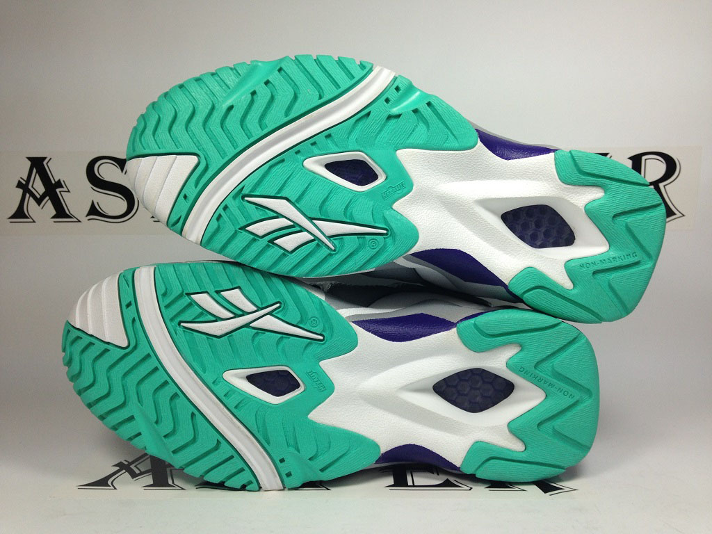 Reebok Kamikaze 2 GS - Navy/Grey-Teal (8)