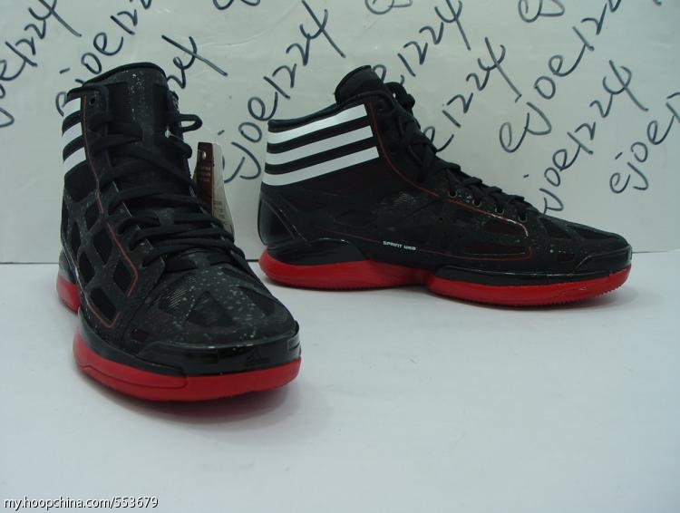 adidas adiZero Crazy Light - Black/White/Red G22389