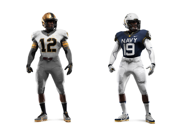 114th Army Navy Game Nike Uniforms
