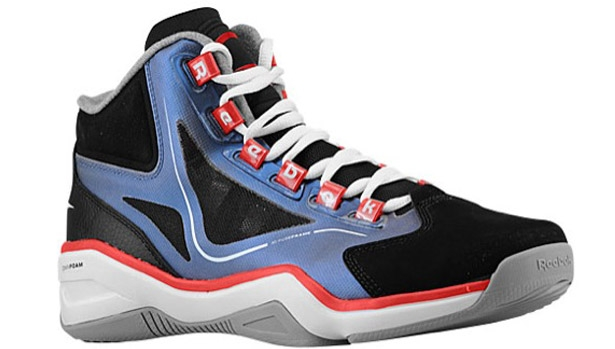 Reebok Q96 Black/White-Stadium Red-Vital Blue