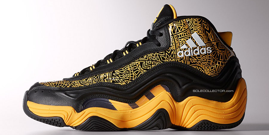 adidas Crazy 2 II KB8 Black/Yellow (1)