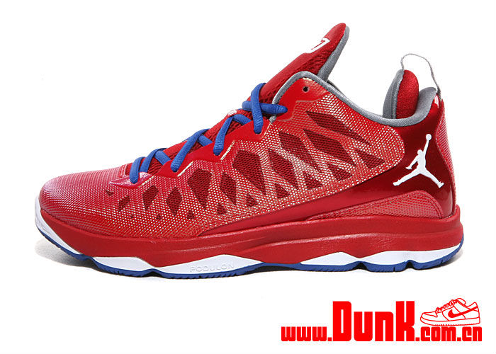 newest 43526 fffdd Jordan CP3.VI Sport Red White Gym Red Game Royal 553533-607 (1