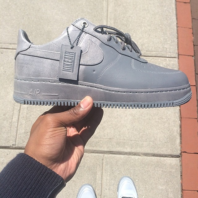 Victor Cruz Picks Up Pigalle x Nike Air Force 1 Low