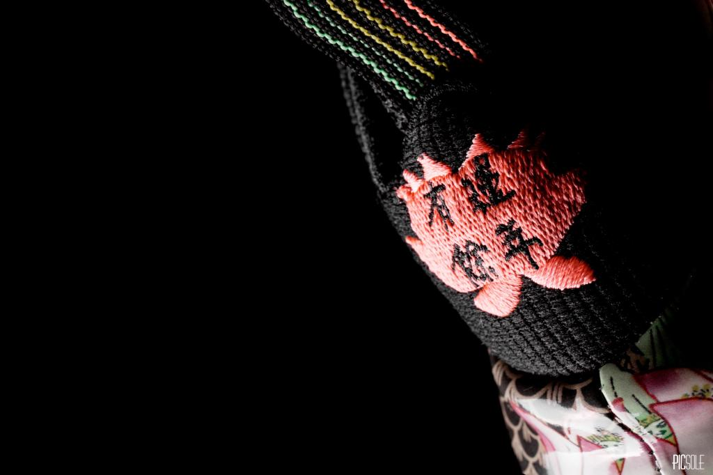 Nike Air Foamposite One Habanero Red x Nike Knit