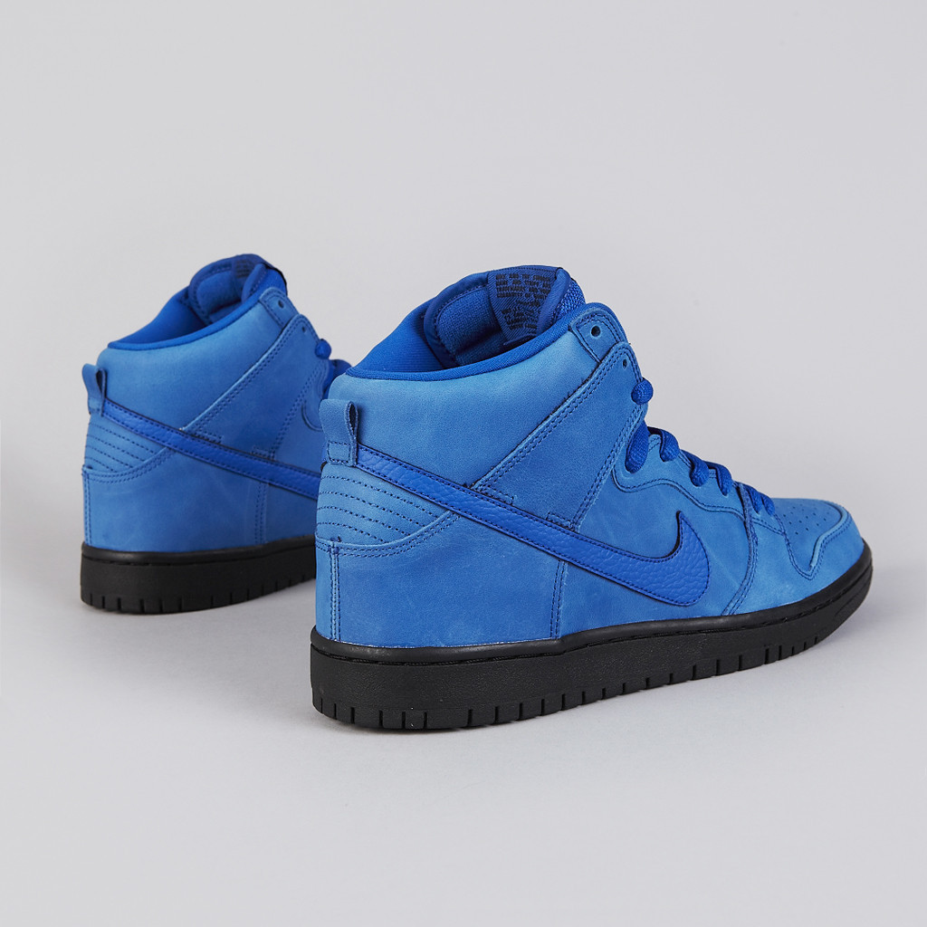 info for cb01c 14749 The new Nike SB Dunk High Pro in Game Royal   Game Royal   Black is  available now at Flatspot.