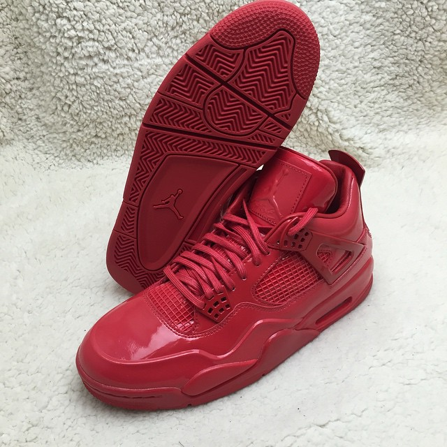 Air Jordan 11Lab4 Red 719864-600 (8)