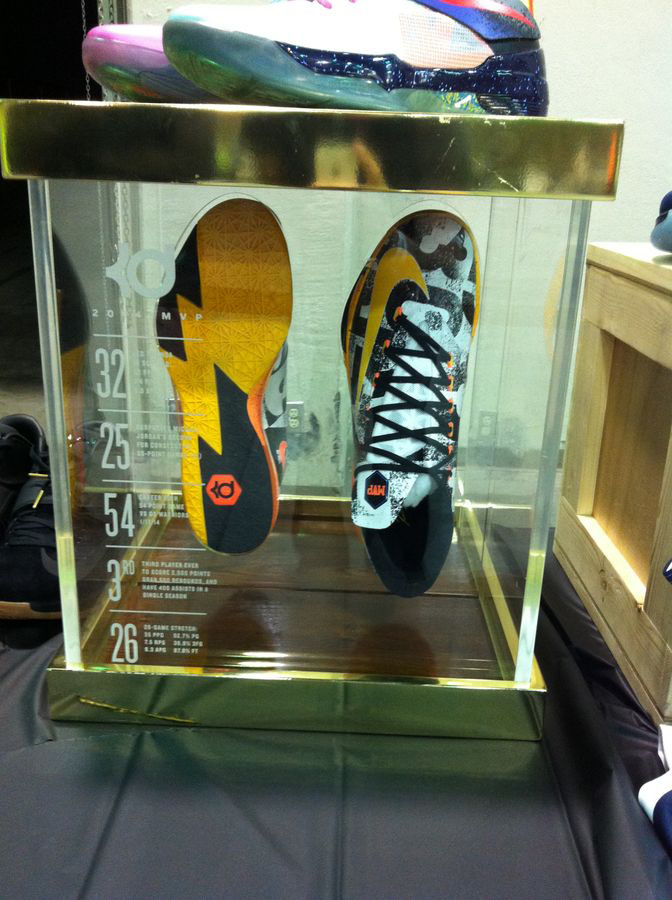 Randy Williams Displays Rare Nike KD Shoes (7)