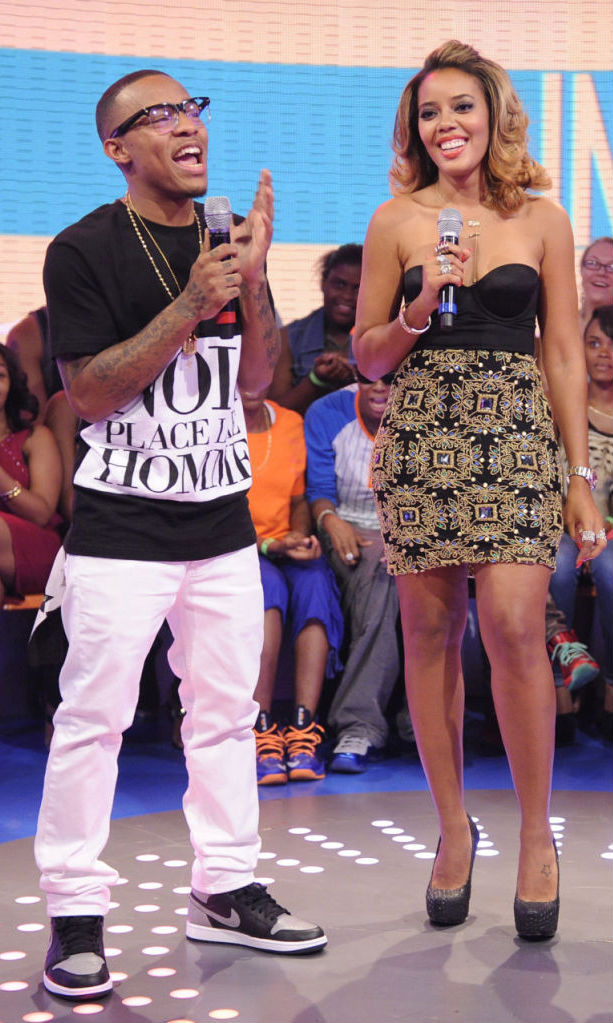 Bow Wow Wearing Air Jordan I 1 Retro High OG Black/Grey (2)
