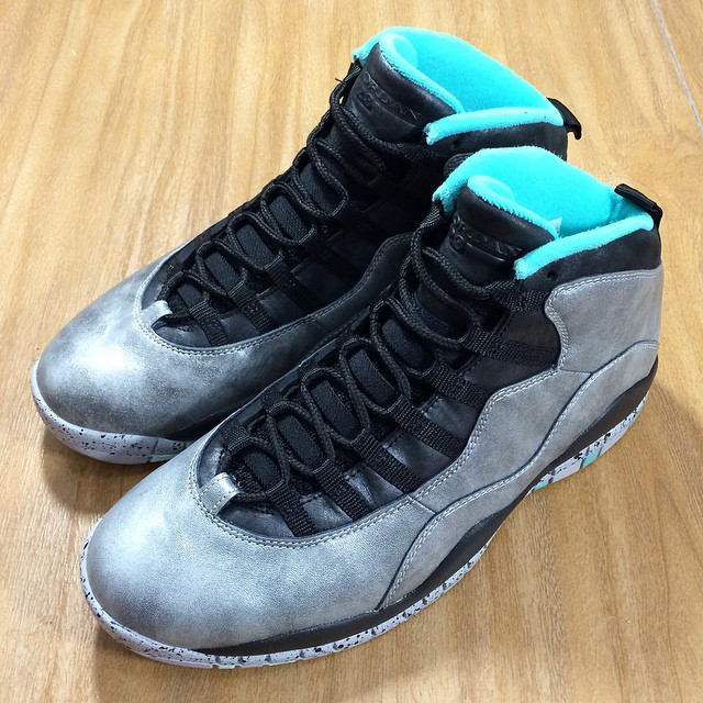 the latest 2ad98 f7c4f Air Jordan X 10 Lady Liberty 705178-045 (12)