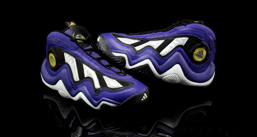 new concept 8a3d4 a997d Check out Kobes memorable purple EQT Elevations below, along with video of  the full 1997 dunk contest.