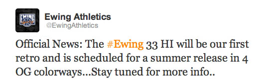 Ewing 33 Hi Retro Summer 2012