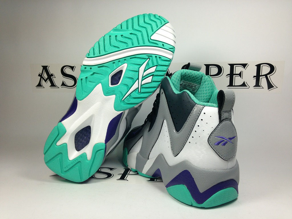 Reebok Kamikaze 2 GS - Navy/Grey-Teal (4)