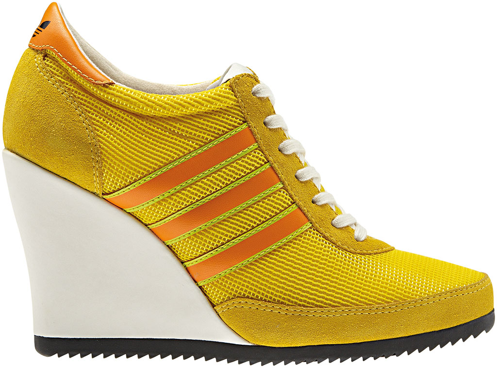 adidas Originals JS Arrow Wedge Yellow Orange G61075 (3)