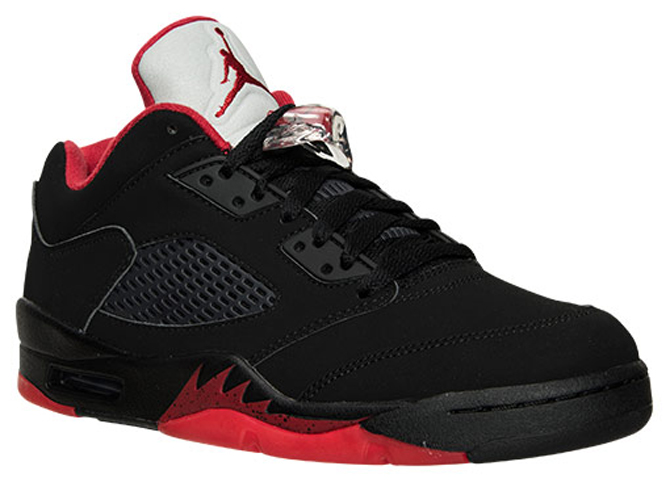 finest selection 9f57e 1ab43 A Look at the Alternate '90 Air Jordan 5 Low On-Foot | Sole ...