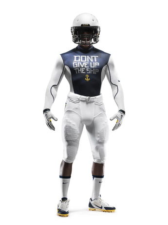 114th Army Navy Game Navy Nike Uniform baselayer