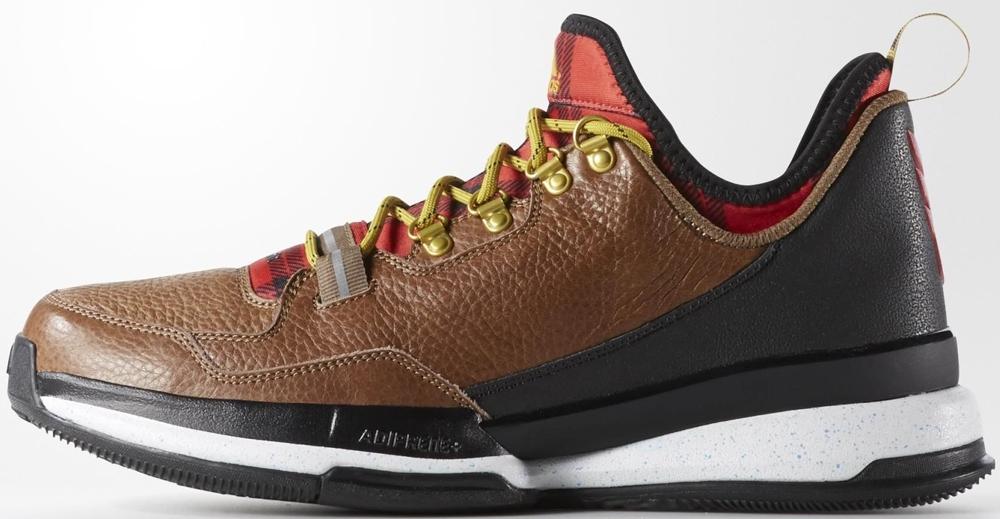 adidas D Lillard 1 Brown Oxide/Scarlet-Raw Ochre