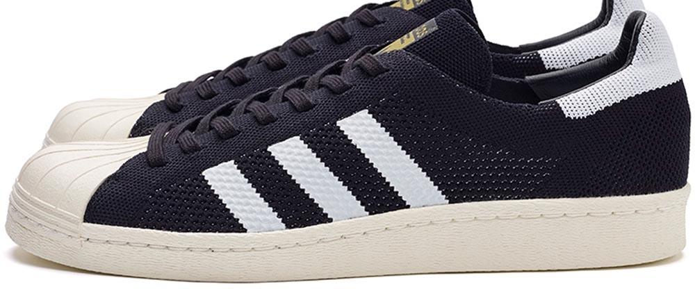 adidas Consortium Superstar 80s Primeknit Black/White