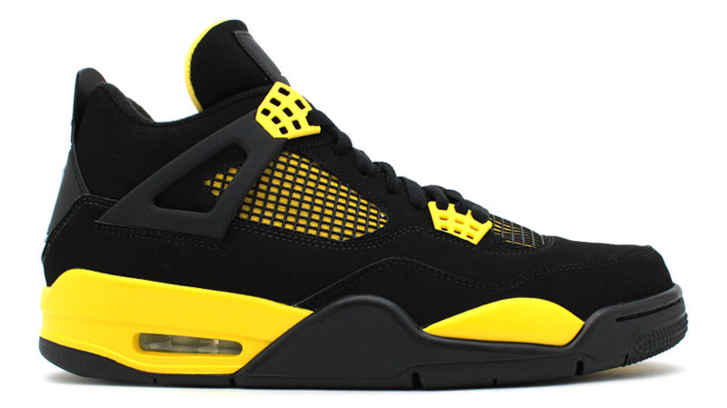 687a973986eb00 Jordan 4 Thunder For Sale