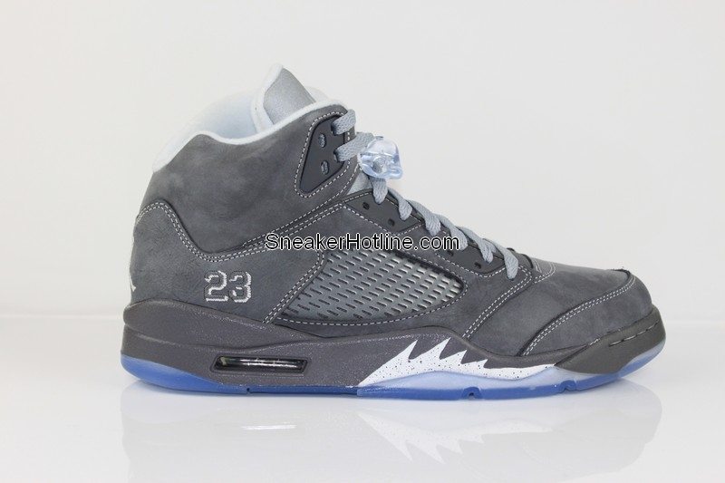 outlet store 31715 ada06 Air Jordan Retro 5 Light Graphite White Wolf Grey 136027-005