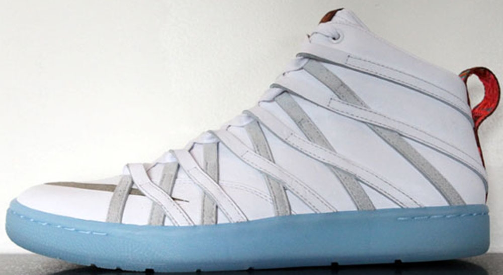 Nike KD VII NSW Lifestyle White/Ice Blue-White