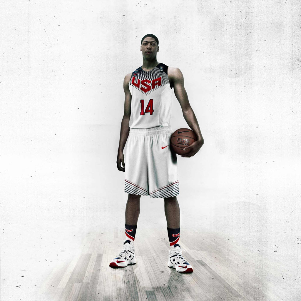 Nike Basketball Unveils 2014 USA Basketball Uniforms - Anthony Davis (3)