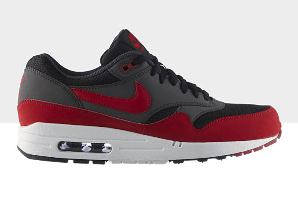ad90bc41a181 The all new Black Gym Red Air Max 1 Essential is now available from  NikeStore.