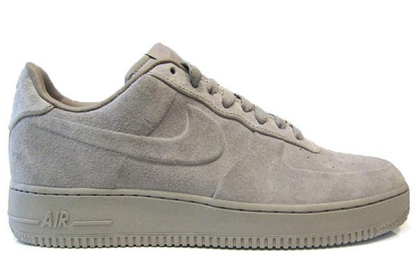 nike air force 1 low vt premium – grey suede sneakers