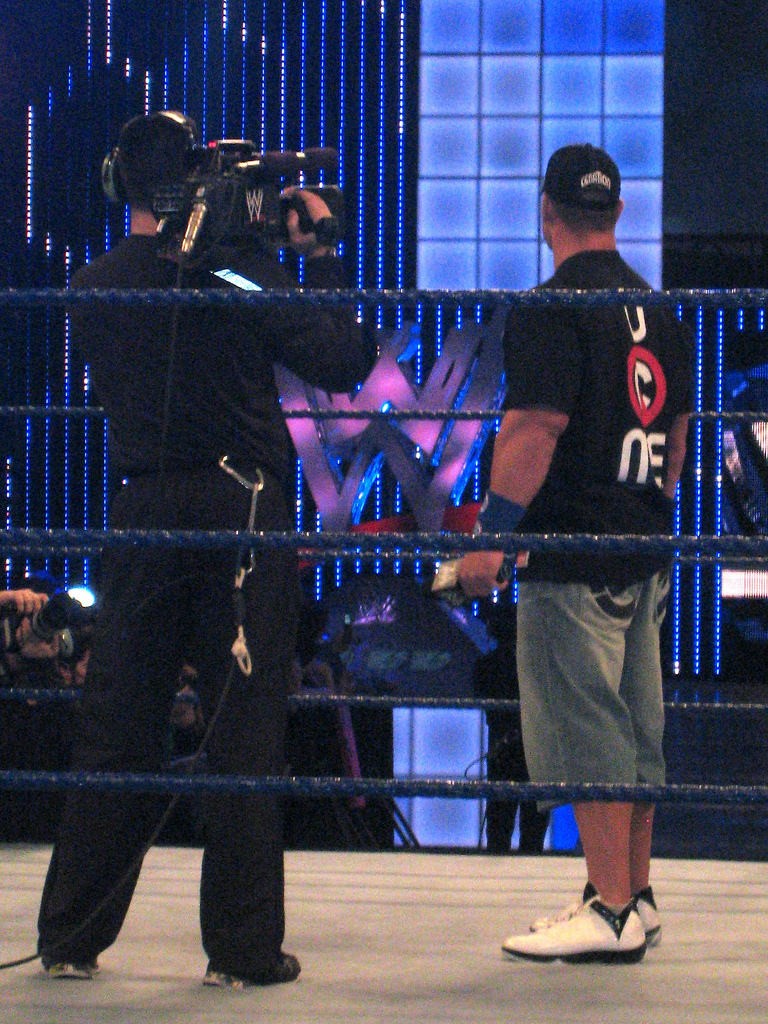 John Cena wearing the Air Jordan 2009